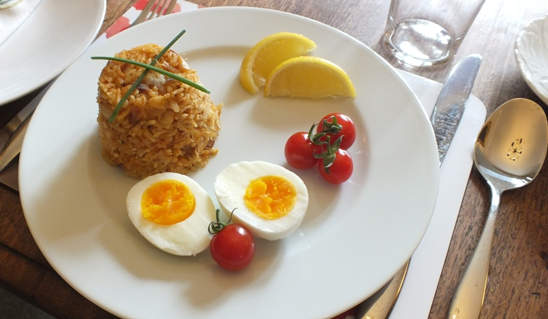 Kedgeree from Dowfold House Bed and Breakfast