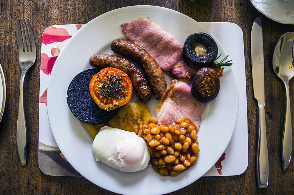 The Dowfold House Full English