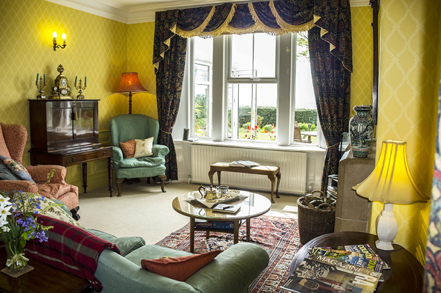 Dowfold House Guest Sitting Room - lovely!